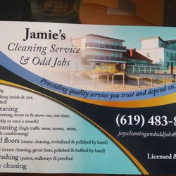 Jamie's Cleaning Service & Odd Jobs - Home Cleaning - 2061