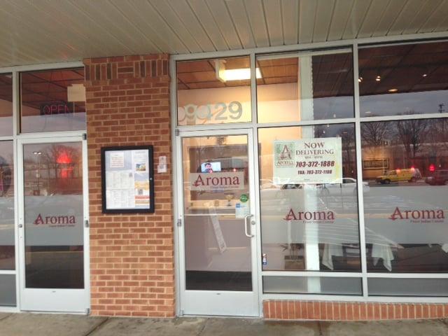 Restaurant front door yelp for Aroma indian cuisine lorton va