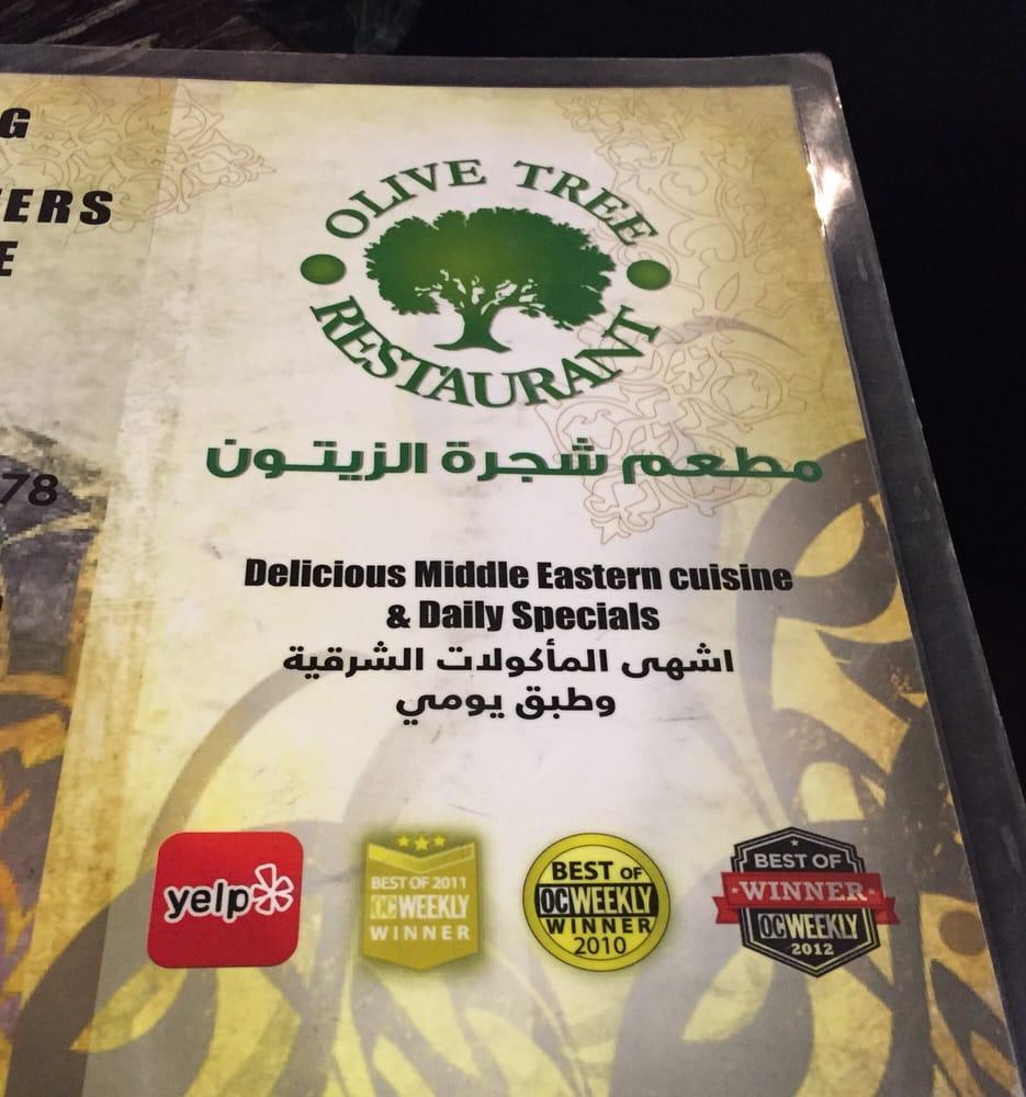 Olive Tree Arabic Restaurant In Anaheim Ca Yelp