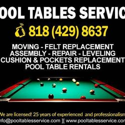Pool Tables Service Movers Movers Sherman Way Valley - Pool table removal near me