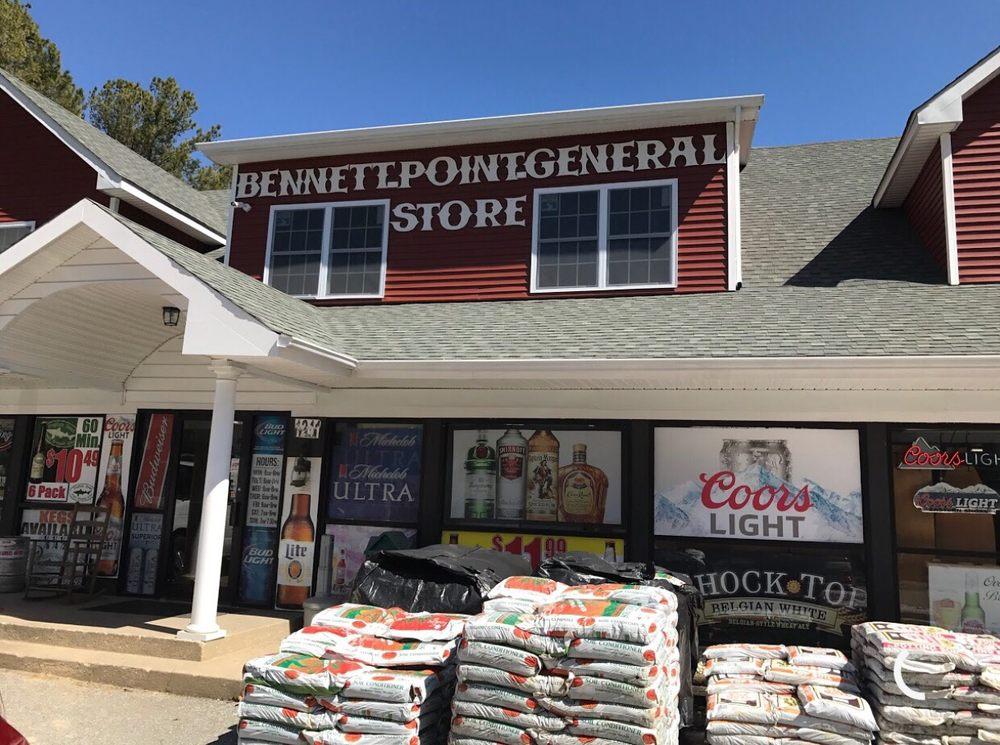 Bennet Point General Store: 1241 Bennet Point Rd, Queenstown, MD