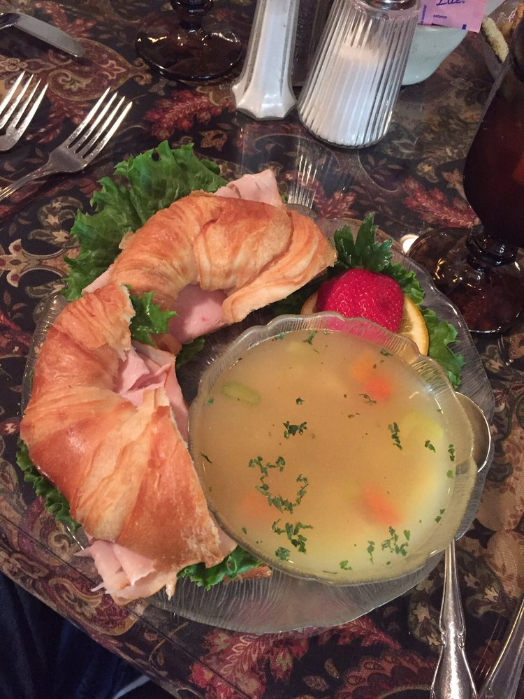 Turkey Croissant And Chicken Noodle Soup Yelp