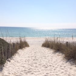 Photo Of Seaside Beach Santa Rosa Fl United States White Sand