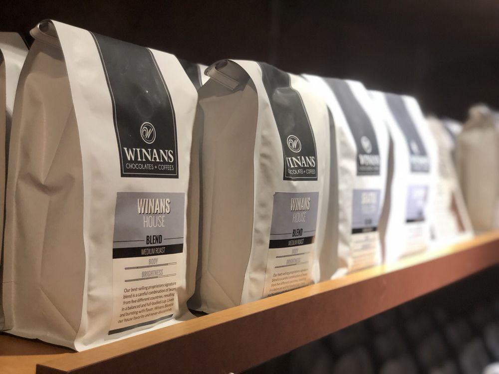 Winans Chocolates + Coffees: 6735 Miller Ln, Dayton, OH
