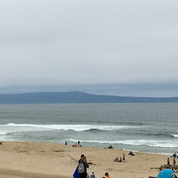 Photo Of Marina State Beach Ca United States Partly Cloudy Day