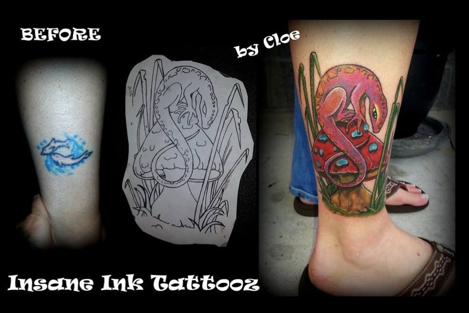 Insane Ink Tattooz And Piercing: 7825 Hwy 90, Sneads, FL