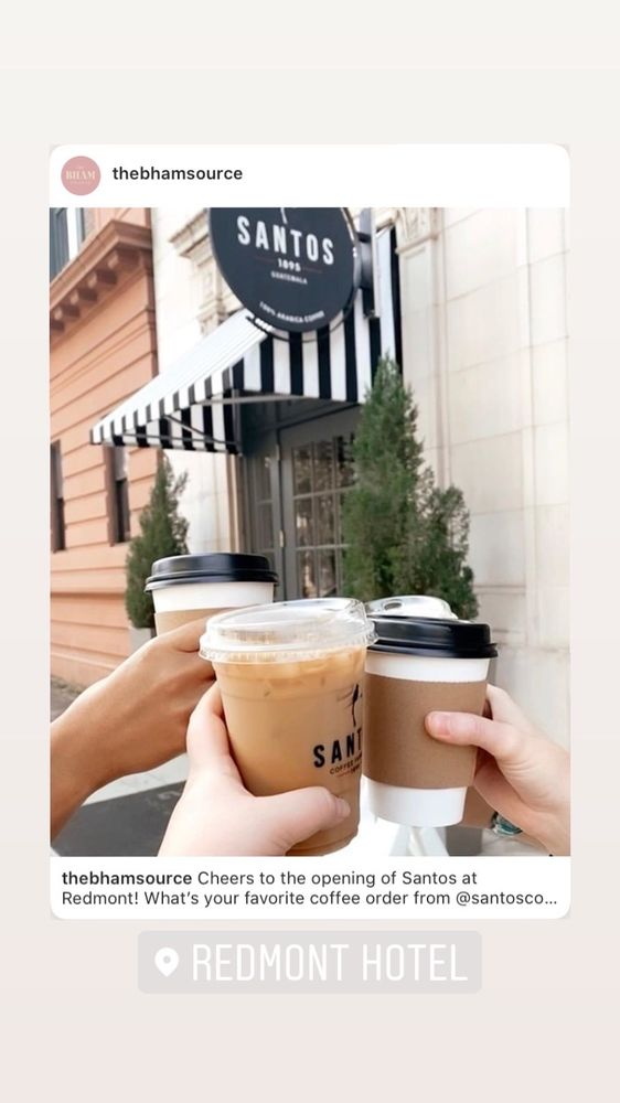 Santos Coffee At Redmont