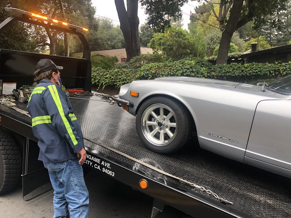 Towing business in Menlo Park, CA