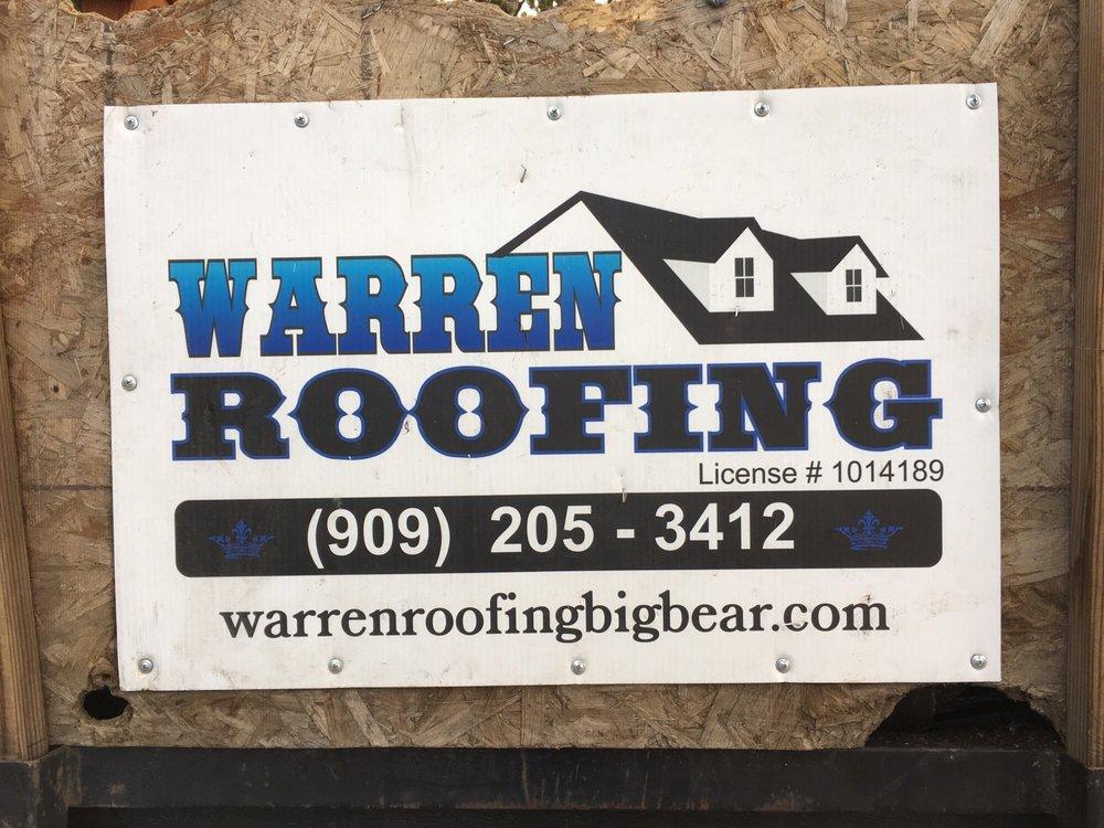 Warren Roofing: Big Bear City, CA
