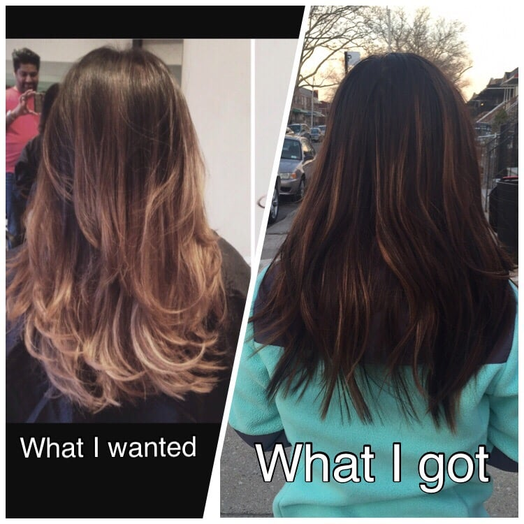 What i wanted and what i got yelp for Aaron emanuel salon