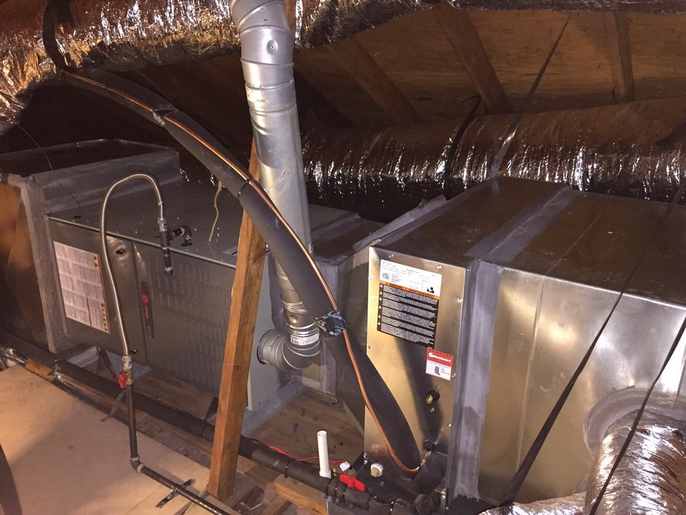 Trane gas furnace and slab evaporator coil yelp for Air conditioner slab