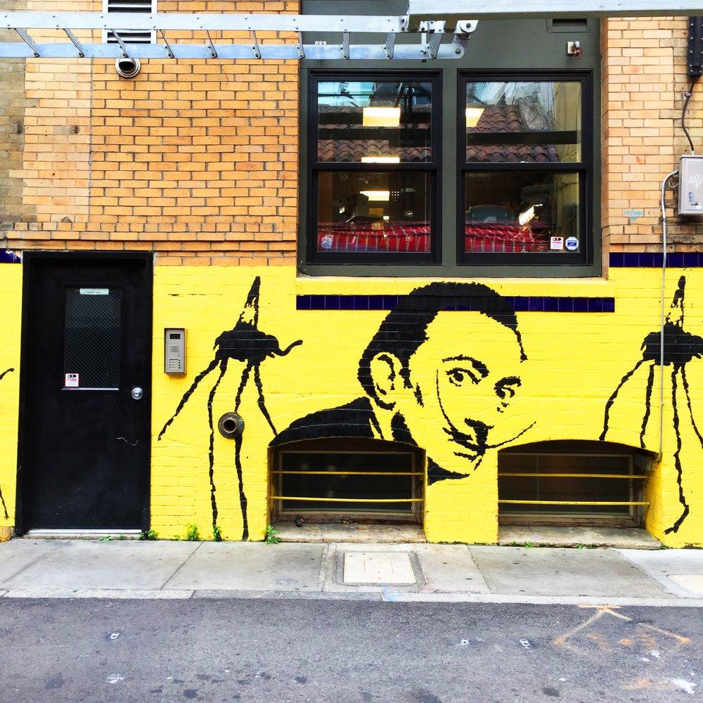 Photos for Salvador Dali Mural - Yelp