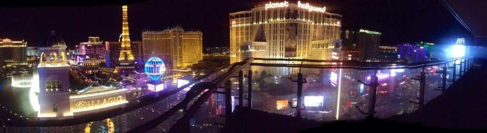 view from our wrap around terrace suite at night yelp