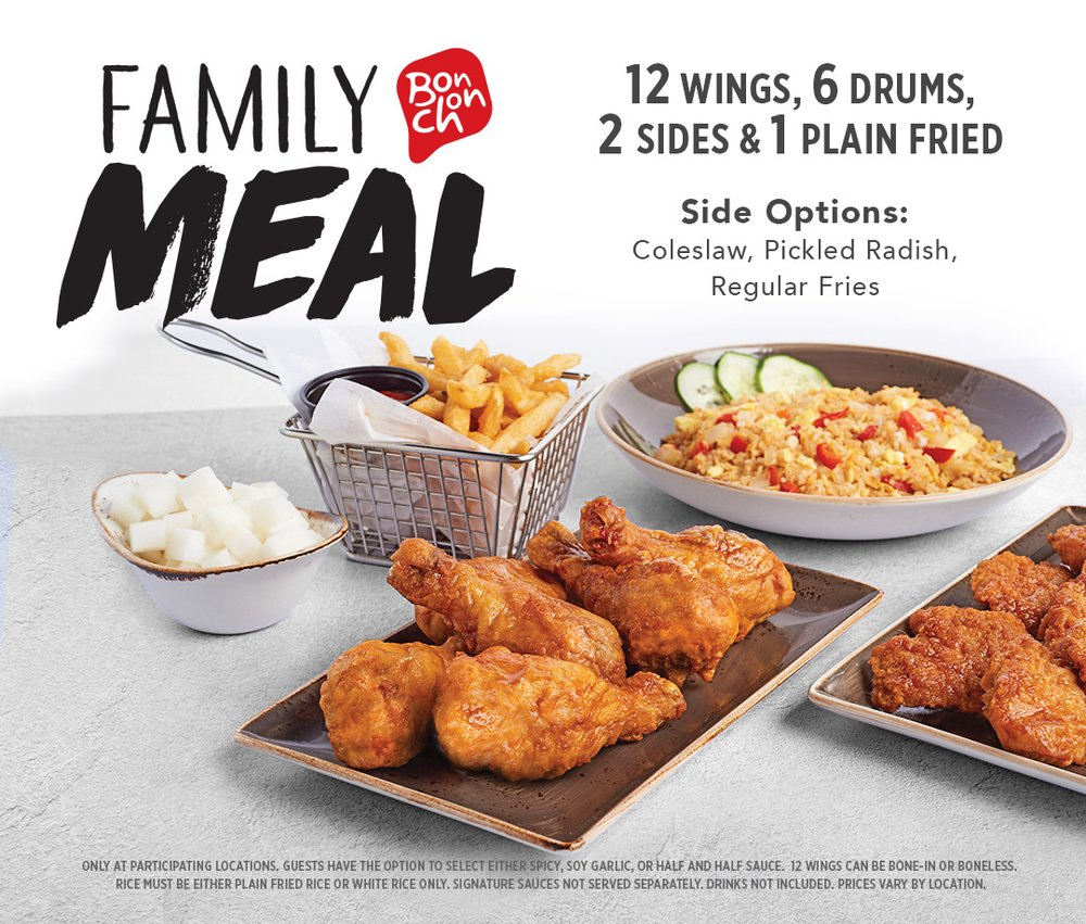 Food from Bonchon Crofton