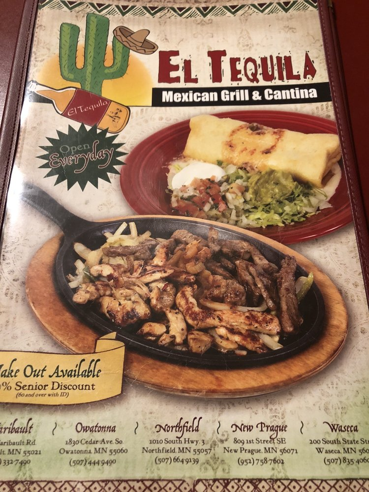 El Tequila Mexican Grill: 200 State St S, Waseca, MN