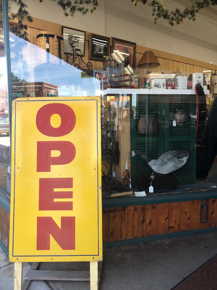 Hallett Antique Emporium: 28 W Main St, Crosby, MN
