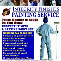Integrity Finishes Painting logo