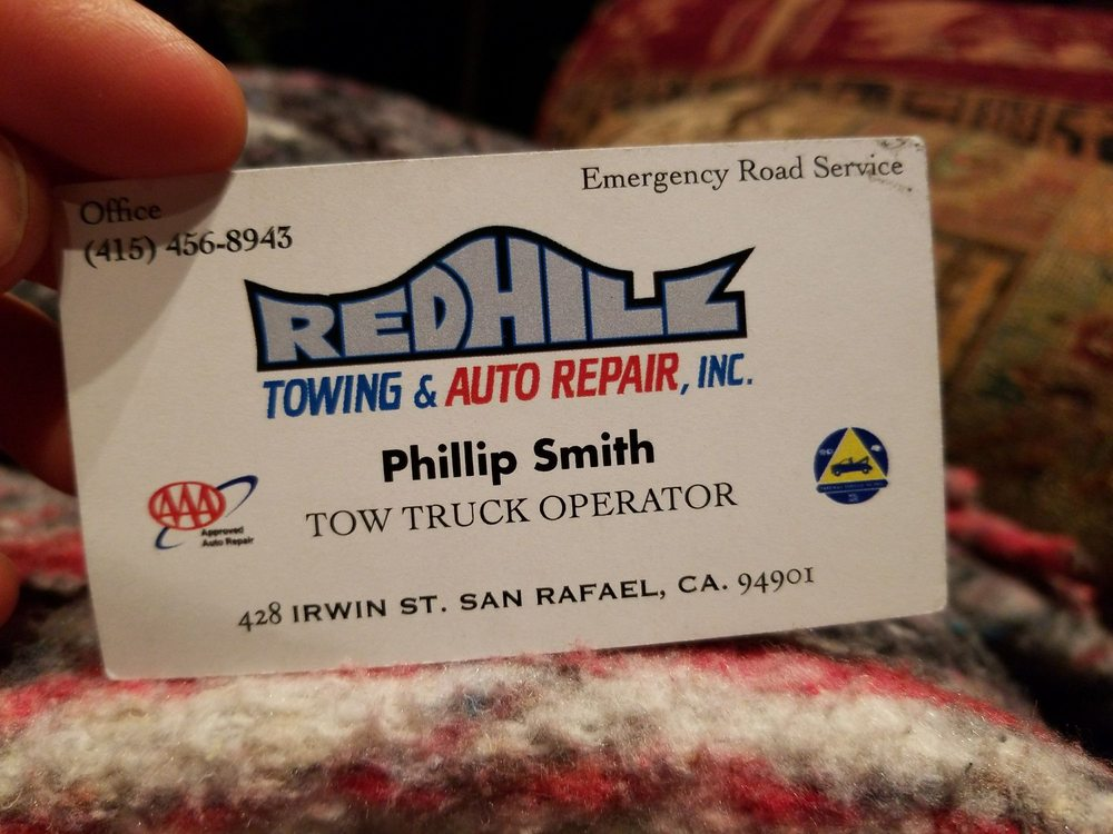 Towing business in San Anselmo, CA