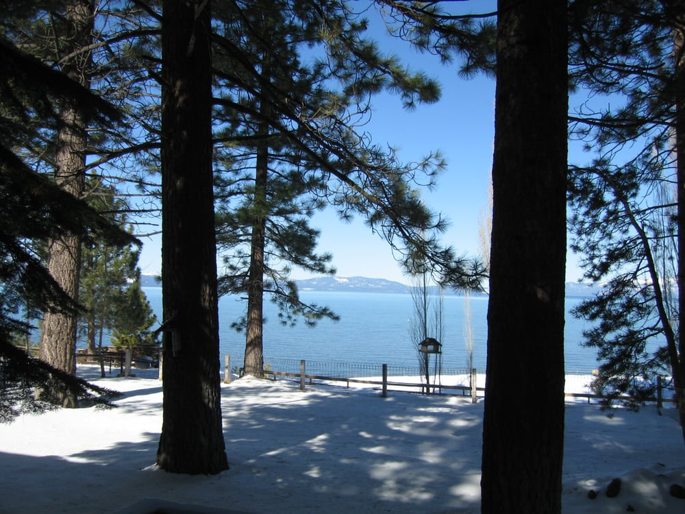 Lakeside in winter yelp for Lake tahoe winter cabin