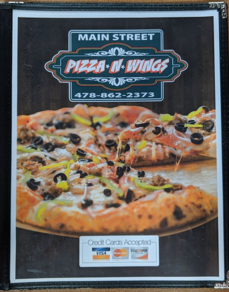 Main Street Pizza & Wings: 8 W Main St, Butler, GA