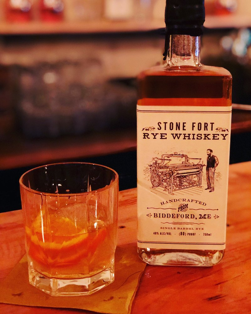 Stone Fort Distillery: 26 Pearl St, Biddeford, ME