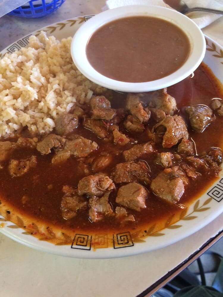 La Paloma Mexican Food Menu