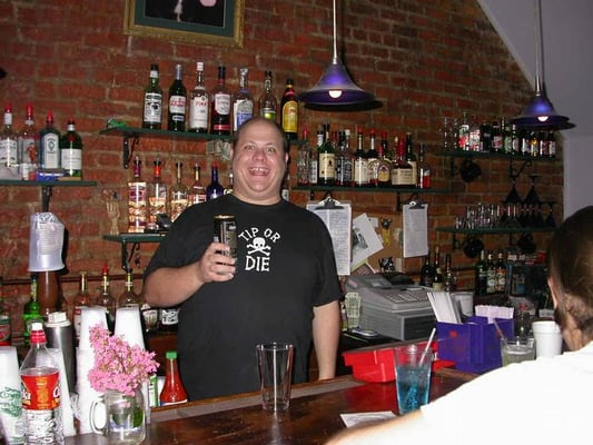 Mojo Lounge, New Orleans (the t-shirt is a joke)