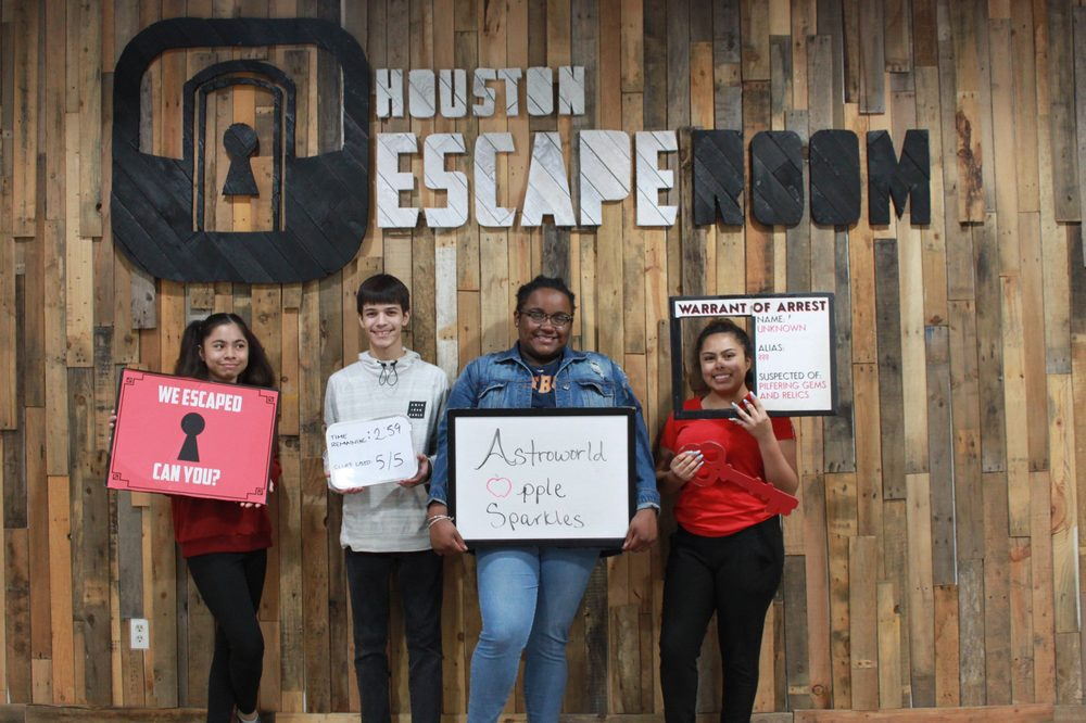 Houston Escape Room: 100 Jackson St, Houston, TX