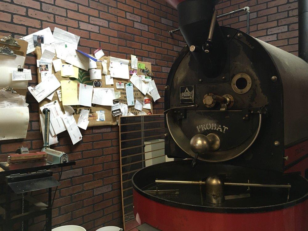 Omega Coffee Company: 520 N Main St, Laurie, MO