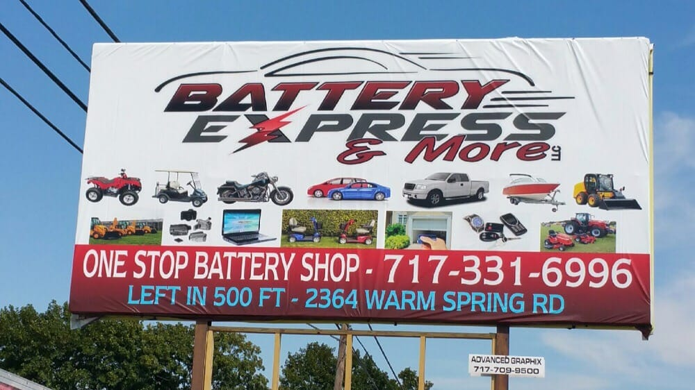 Battery Express & More: 2364 Warm Spring Rd, Chambersburg, PA
