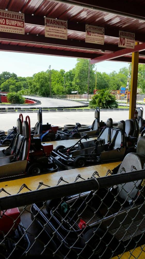 Go-Kart Raceway: 2800 W Mount Houston Rd, Houston, TX