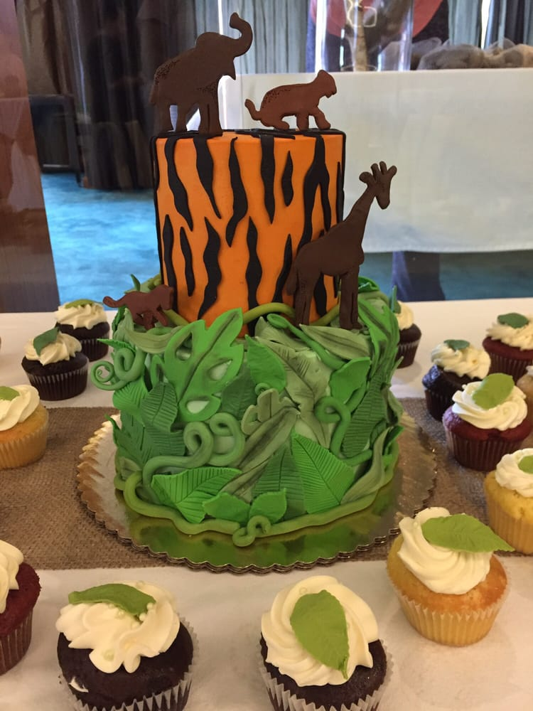 Photo Of CAKE   San Diego, CA, United States. Jungle Book Baby Shower