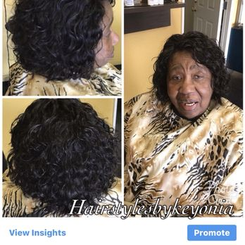 Relaxed Hair With Silk Wrap Yelp