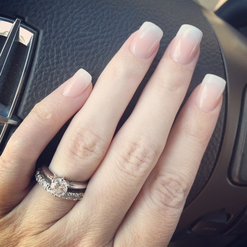White/pink ombré - Yelp