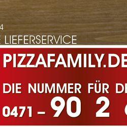pizza family pizza b rgermeister smidt str 214 bremerhaven bremen beitr ge zu. Black Bedroom Furniture Sets. Home Design Ideas