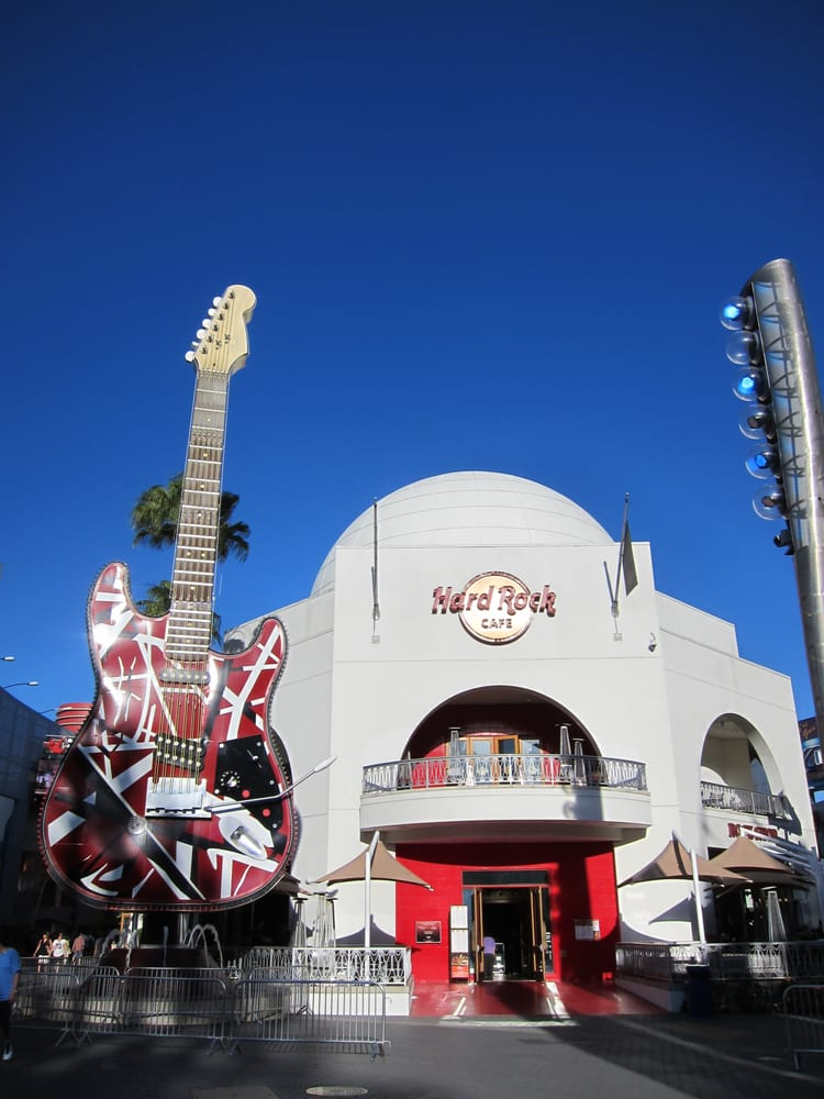 Hard Rock Cafe Universal Citywalk Universal City Ca