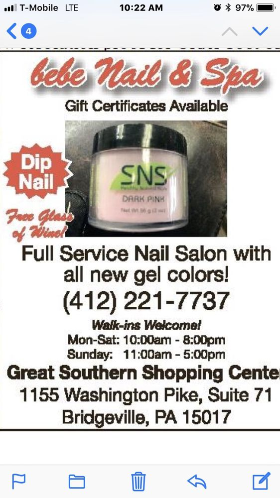 Bebe Nail Spa - 12 Reviews - Nail Salons - 1155 Washington Pike ...