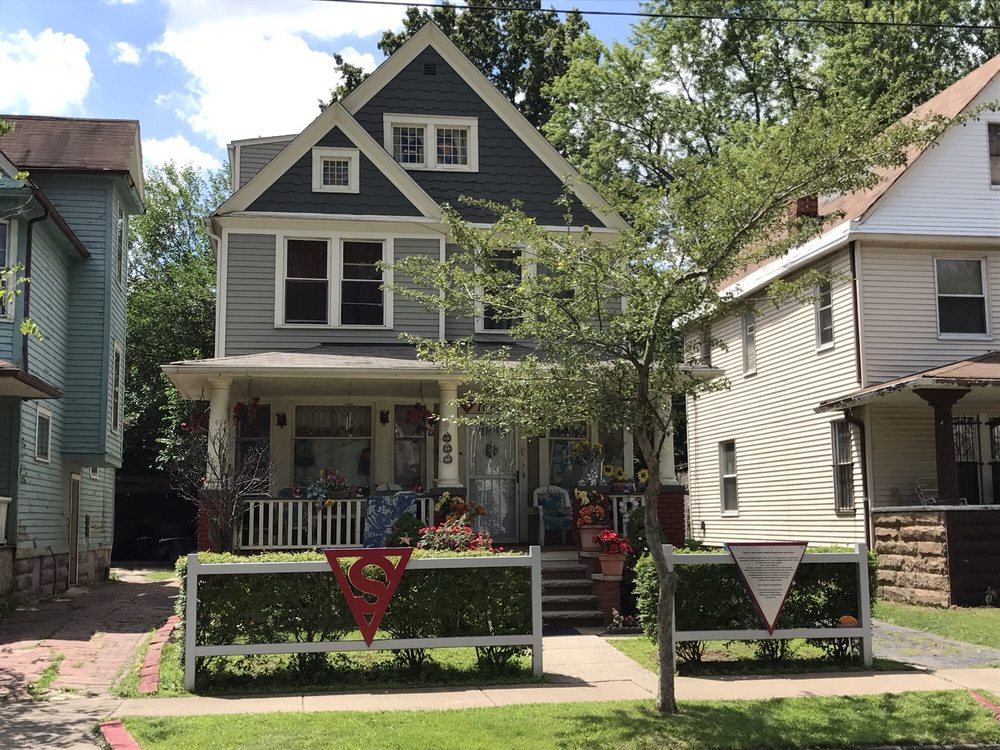 Superman House: 10622 Kimberley Ave, Cleveland, OH