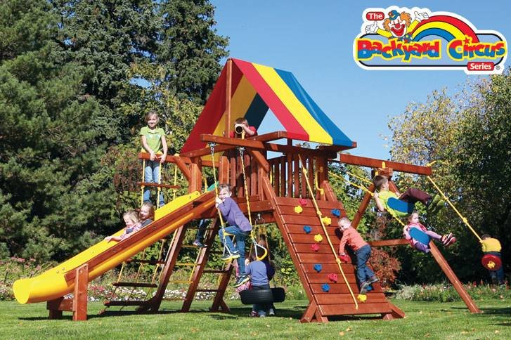 Rainbow Play Systems of St Cloud: 3606 Roosevelt Rd, Saint Cloud, MN