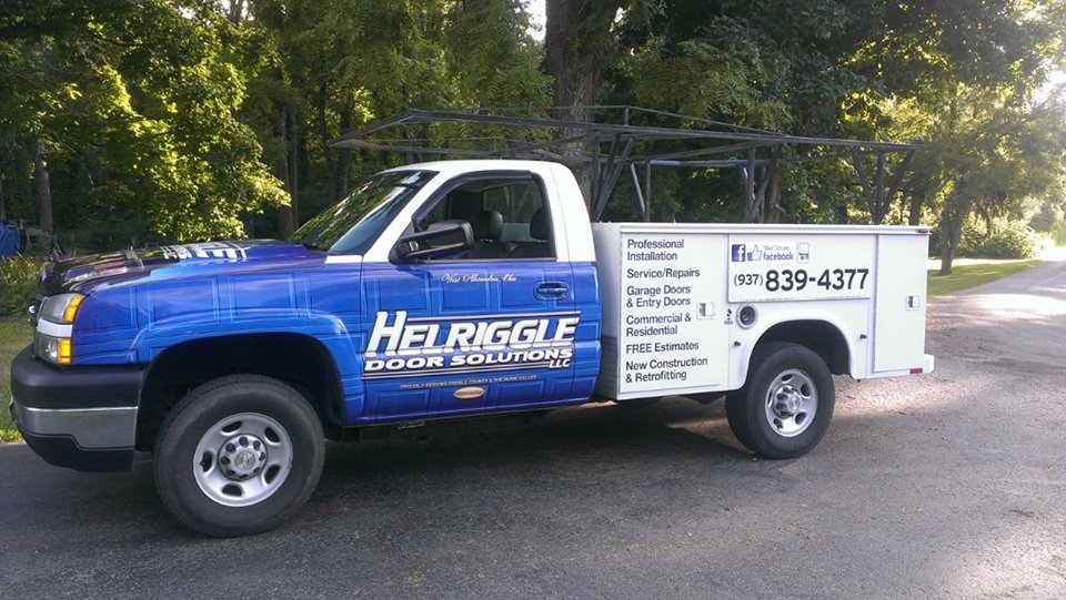 Helriggle Door Solutions: 6318 Factory Rd, West Alexandria, OH