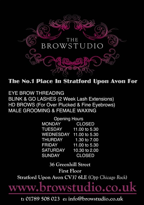 The Brow Studio Beauty Spas 36 Greenhill Street Stratford