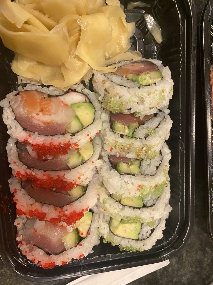 Food from Matsumoto Sushi