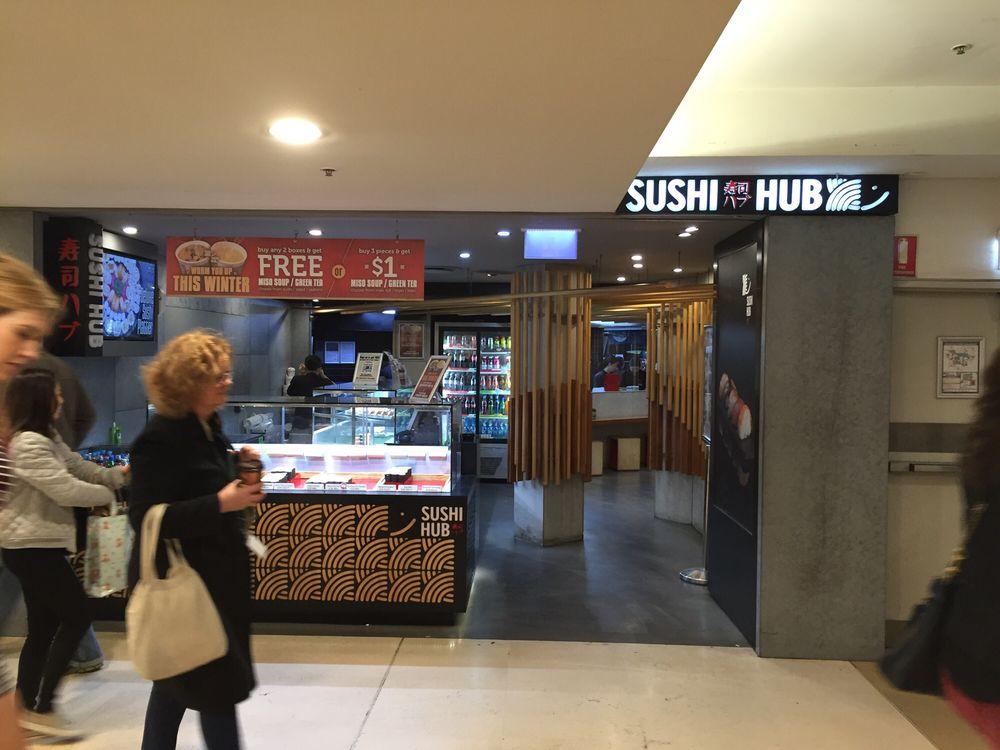 sushi hub sushi bars 455 george st sydney sydney new. Black Bedroom Furniture Sets. Home Design Ideas