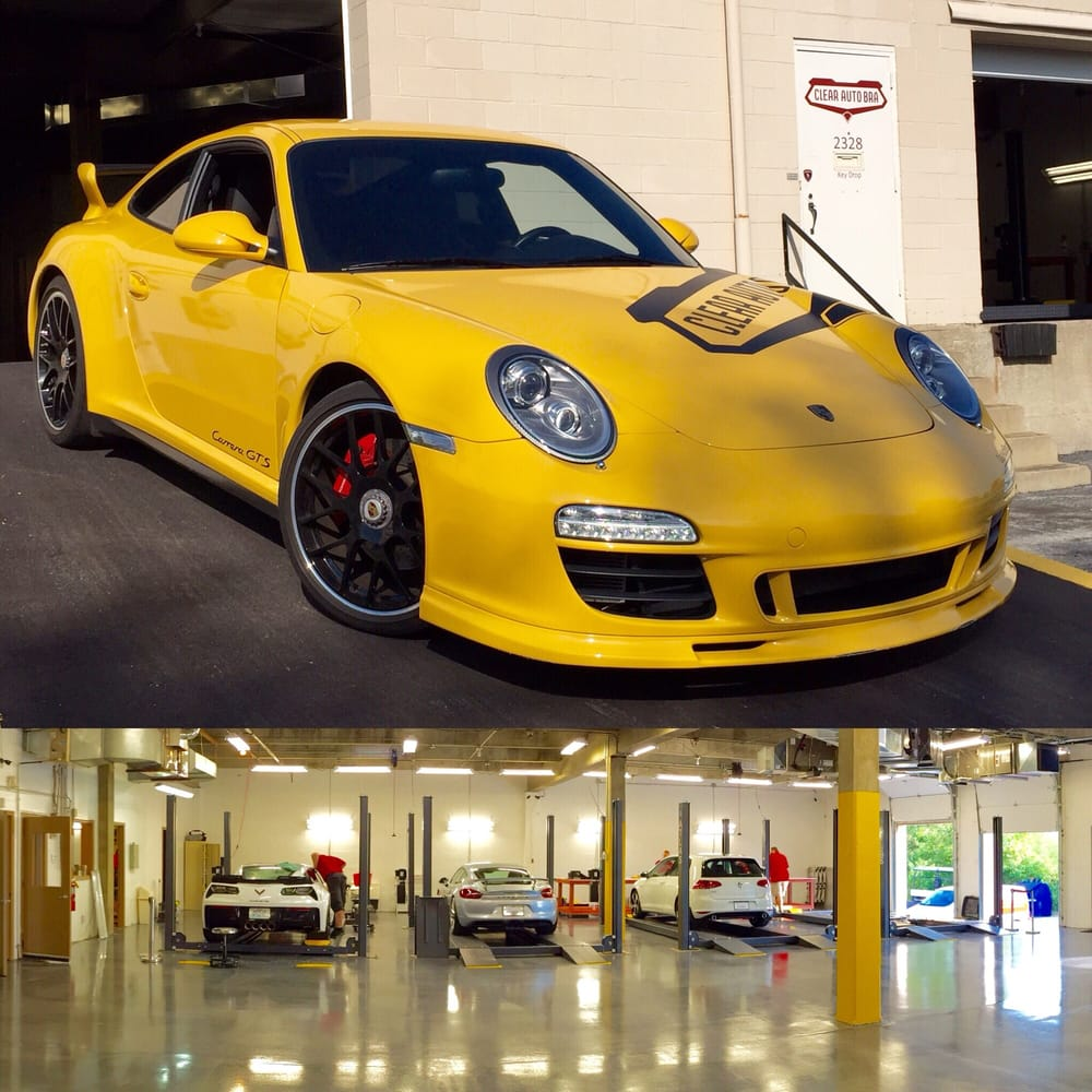 Clear Car Bra: Top Notch Paint Protection Film Installation Facility For