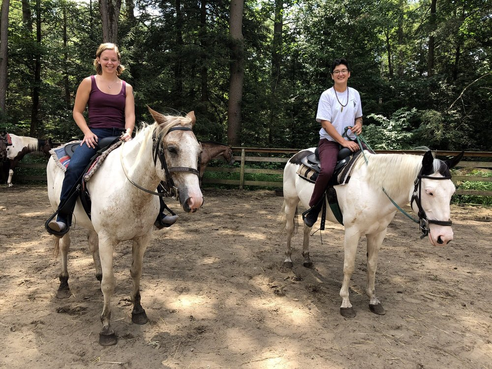 Ruggiero's Horseback Riding and Cabin rentals: 746 Howe Rd, Lake Luzerne-Hadley, NY