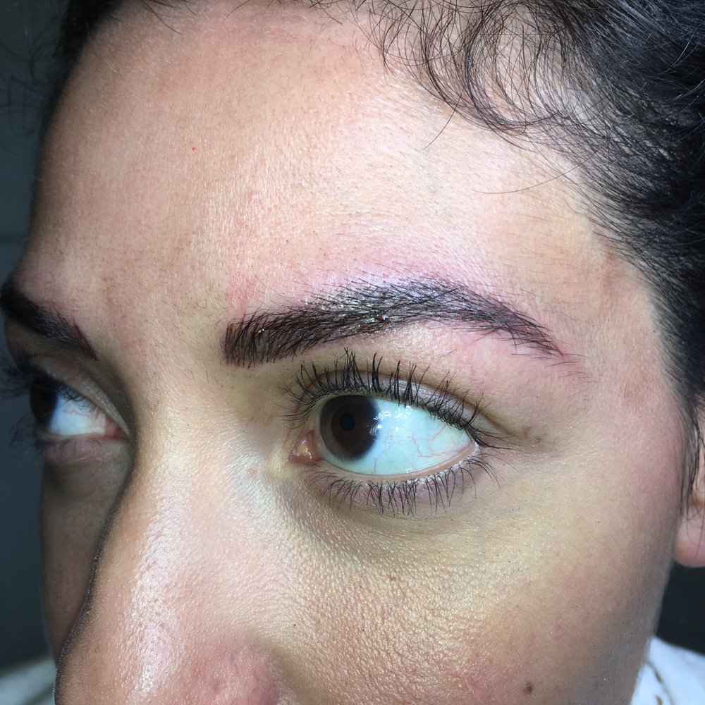 Natural 3d eyebrow tattoo yelp for 3d eyebrow tattoo near me