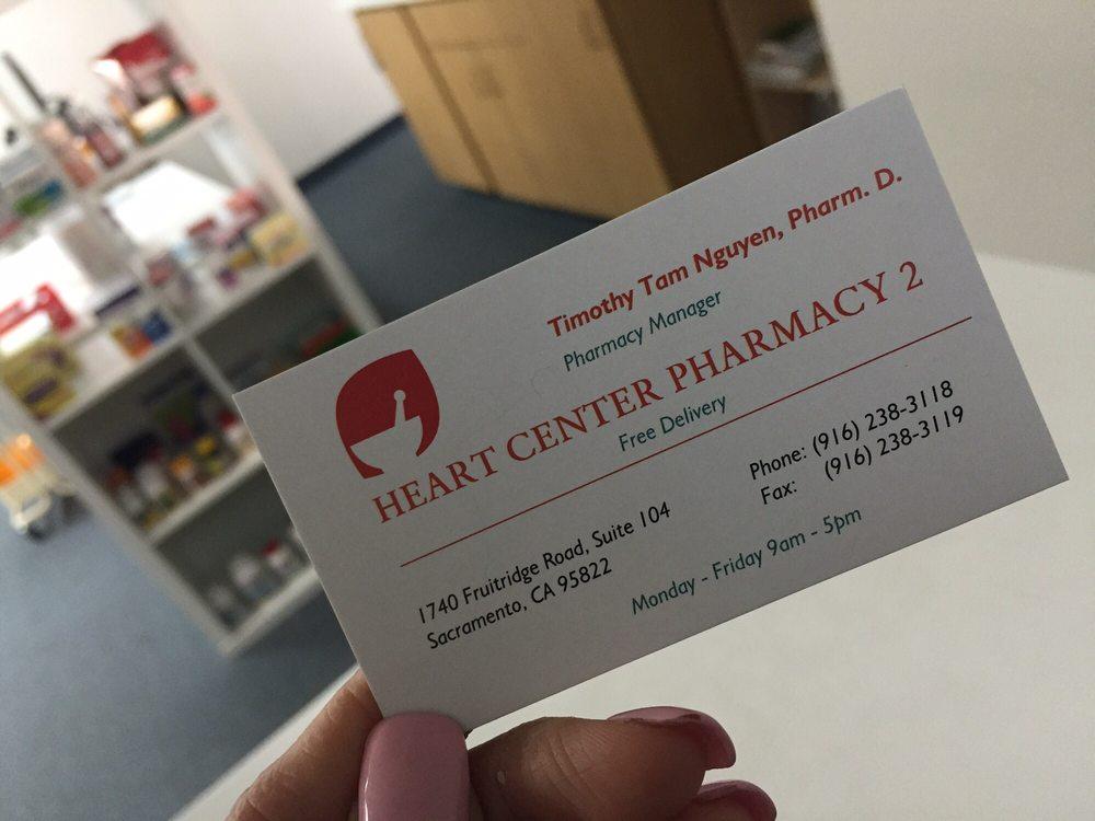 Heart Center Pharmacy 2 - Pharmacy - 1740 Fruitridge Rd, South ...