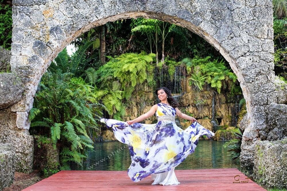 Quinceñera photo session in Secret Garden - Yelp