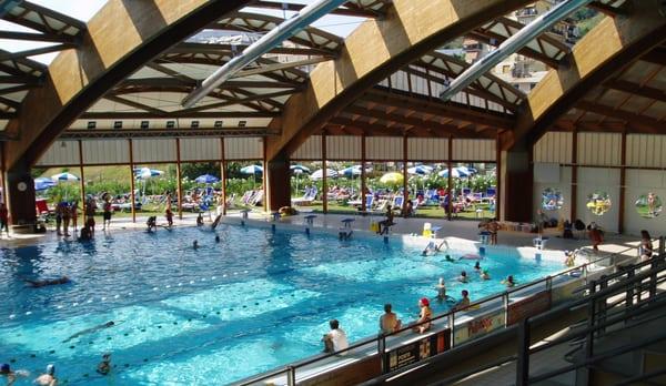 aquacenter i delfini piscina di pr albercas via pr
