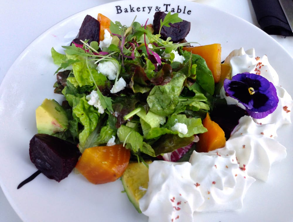 ... Honolulu, HI, United States. Roasted Beet Salad with Blue Cheese Foam